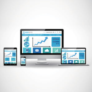 Insist on a modern, responsive website that works across all devices