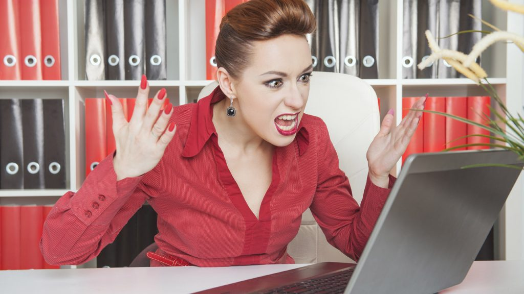 Woman frustrated by a WordPress developer who goes incommunicado!